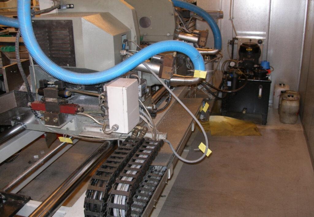 Tags på maskinerne er en del af en TPM proces